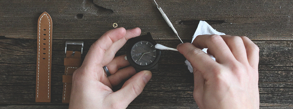 How To Clean Your Wood Watch